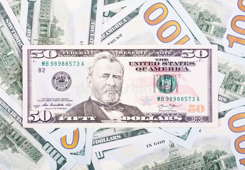 Montão dos dólares fotografia de stock