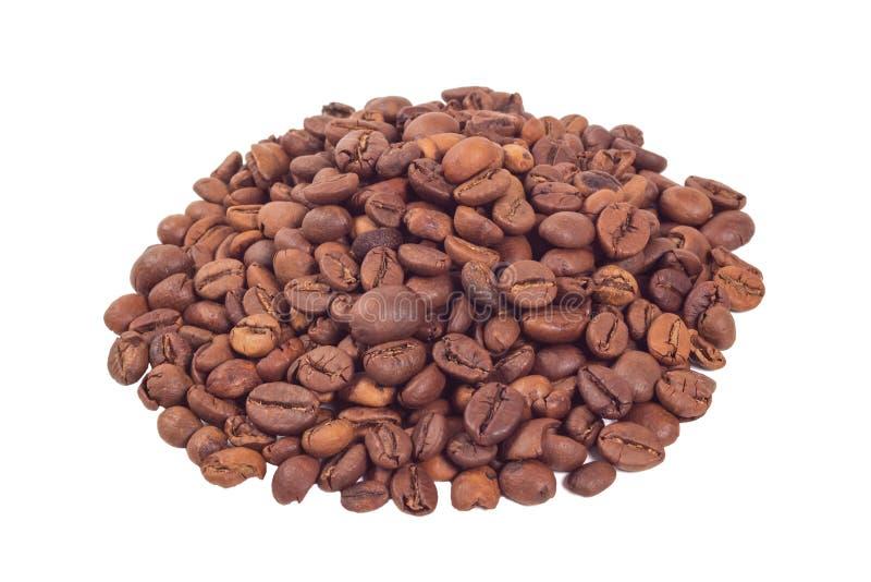 Montão dos feijões de café fotos de stock