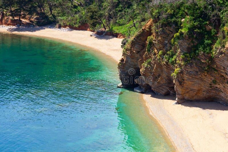 Monténégro beaches-3 image libre de droits