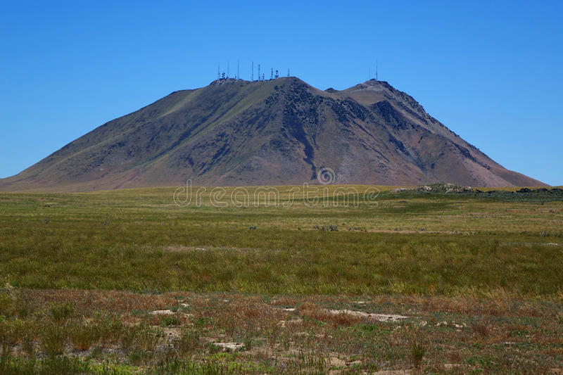Montículo do leste - Idaho imagens de stock royalty free