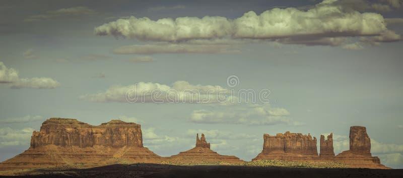 Montículos do vale do monumento fotografia de stock