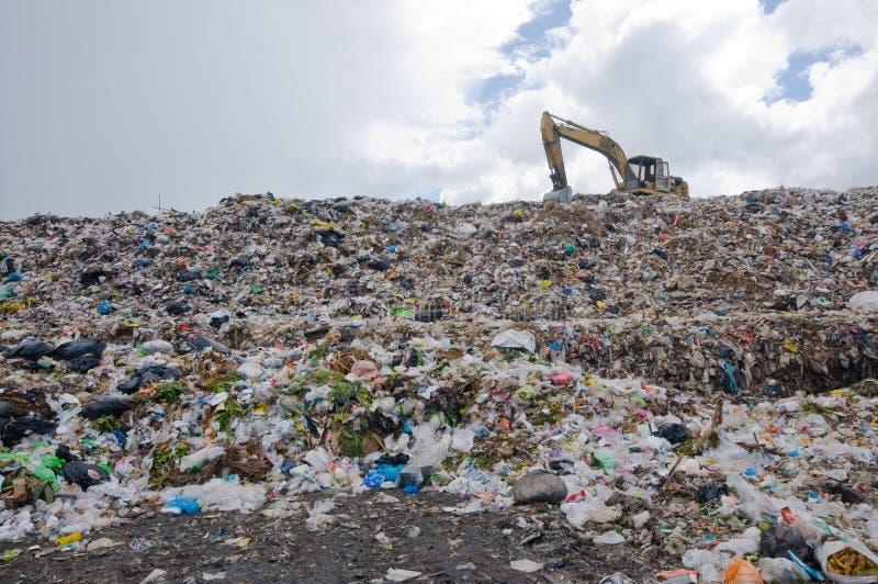 Montón de basura fotografía de archivo