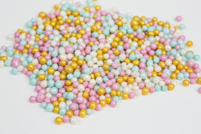 Montón de espolvorines de azúcar foto de archivo libre de regalías