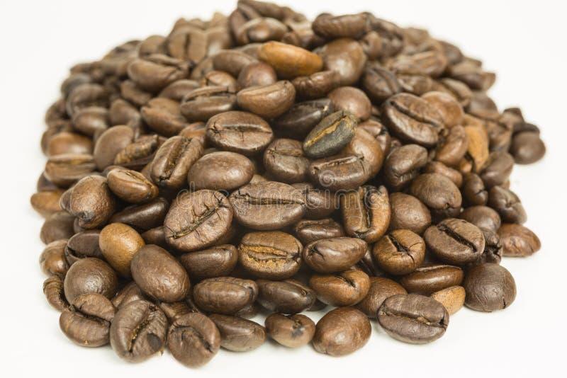 Montón de granos de café fotos de archivo