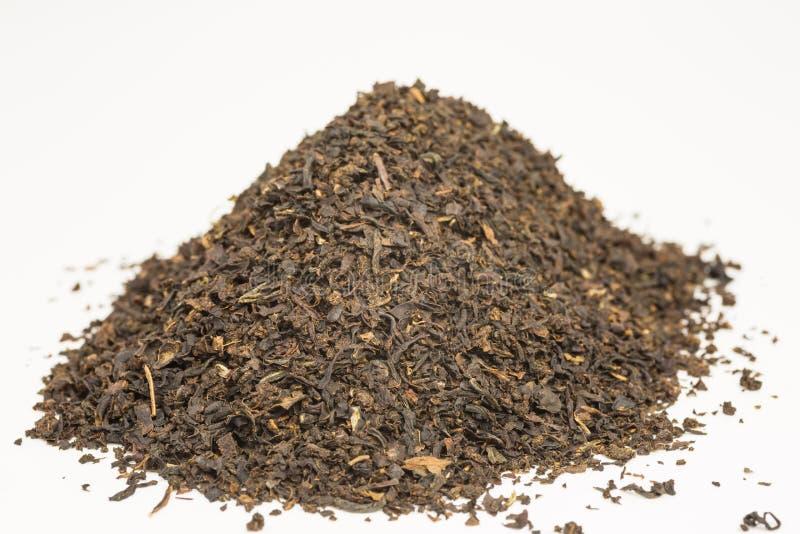 Montón de hojas de té fotografía de archivo libre de regalías