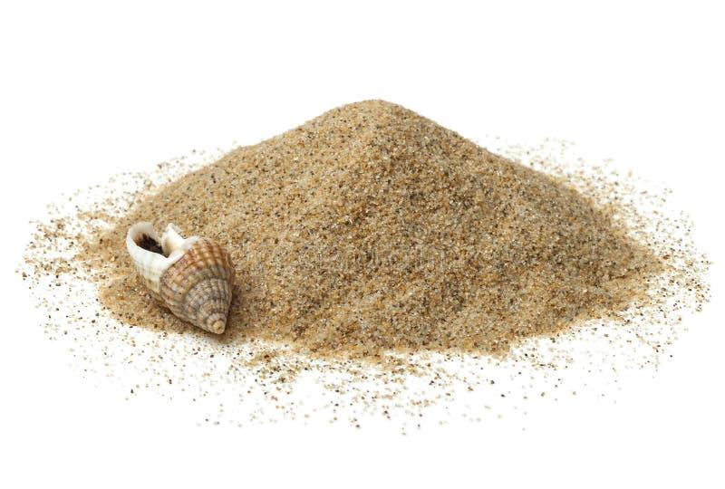Montón de la arena de la playa imagen de archivo libre de regalías