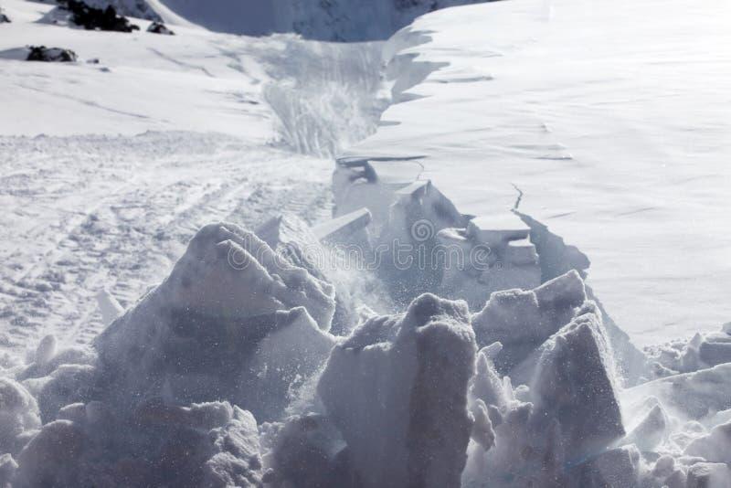 Montón de la nieve imágenes de archivo libres de regalías