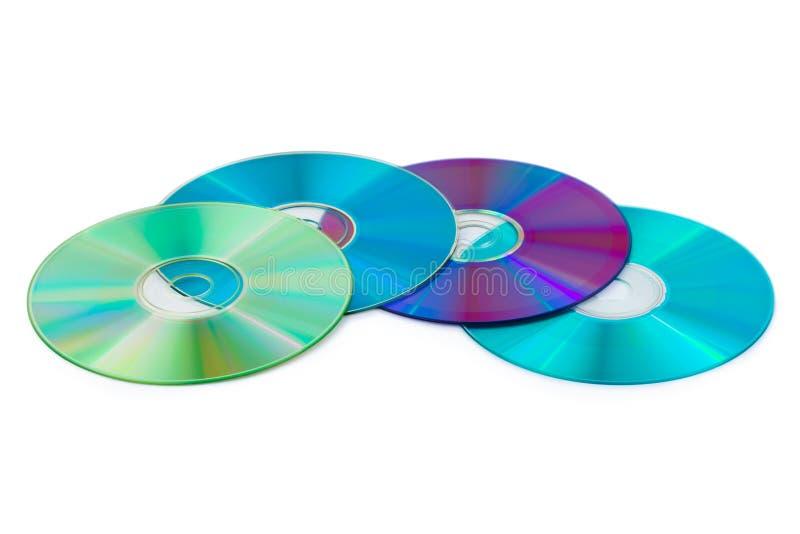 Montón de los discos del ordenador fotografía de archivo libre de regalías