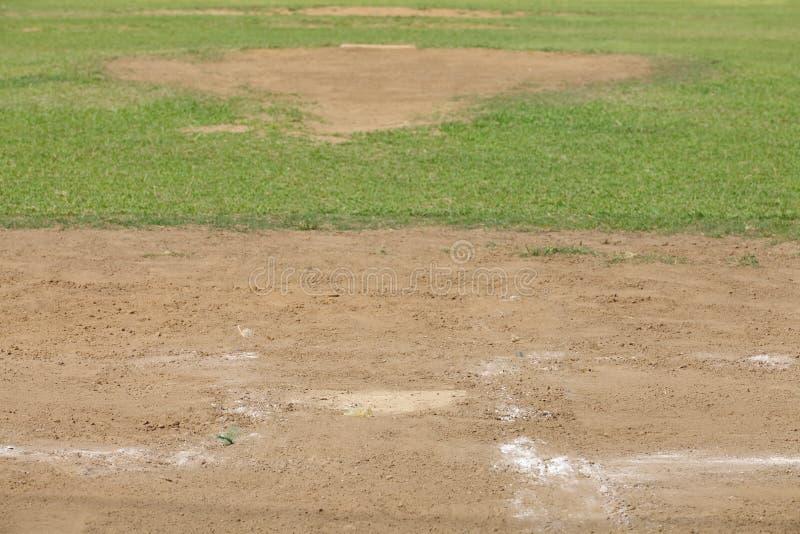Montón del cabeceo del béisbol fotografía de archivo libre de regalías