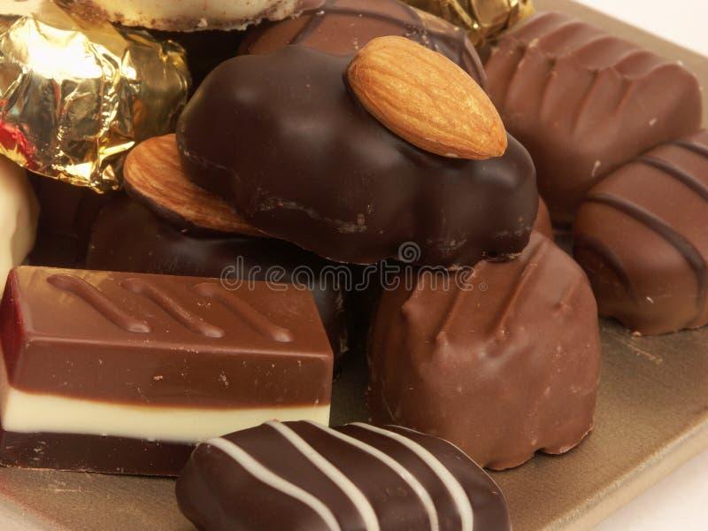 Montón del chocolate imágenes de archivo libres de regalías
