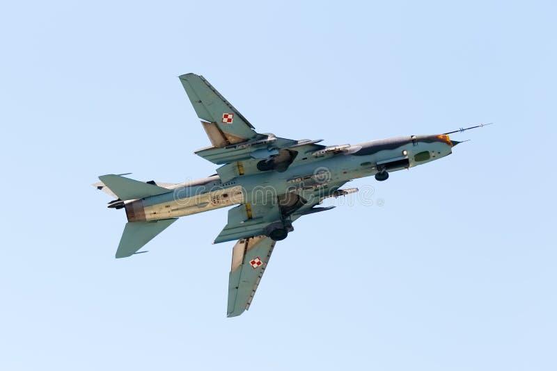 Montör Su-22 royaltyfri fotografi