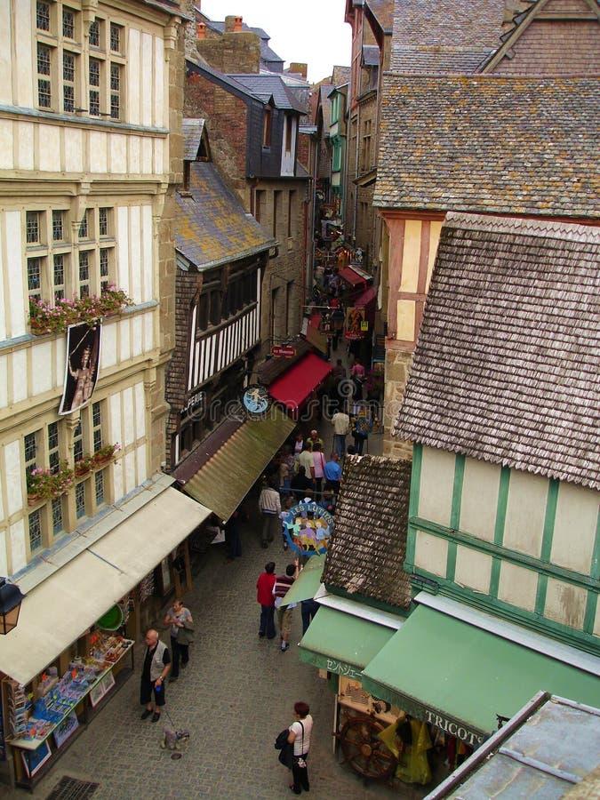 Mont圣徒Michel 免版税图库摄影