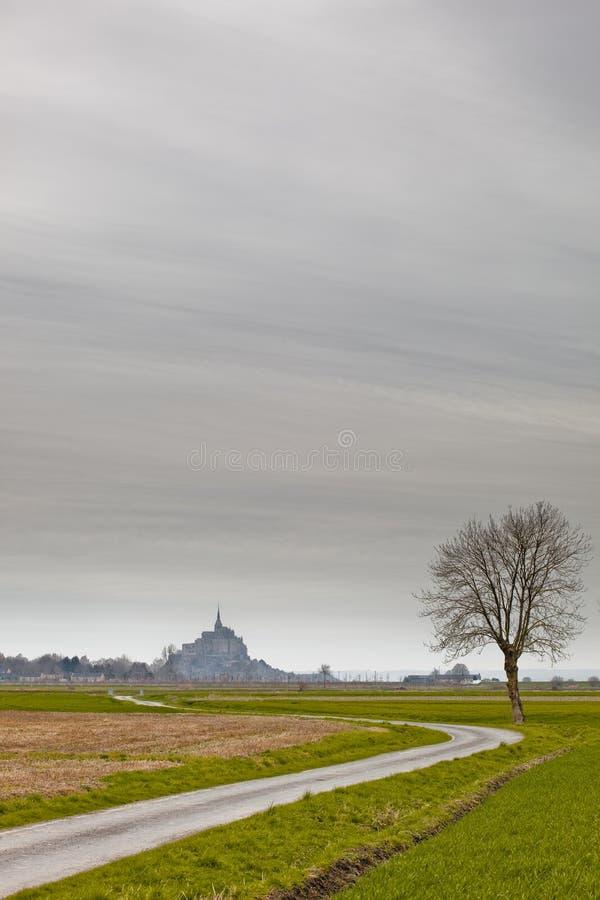 Mont米谢尔 库存图片