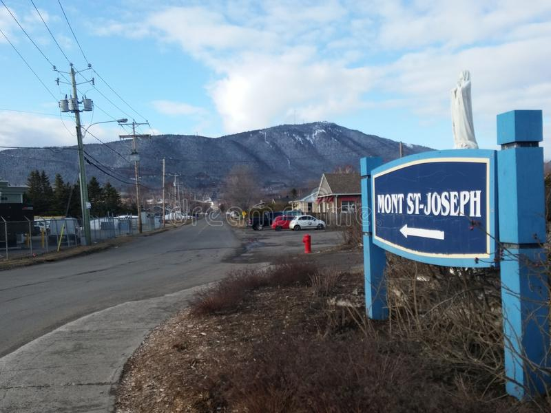Mont Άγιος Joseph στοκ φωτογραφία με δικαίωμα ελεύθερης χρήσης