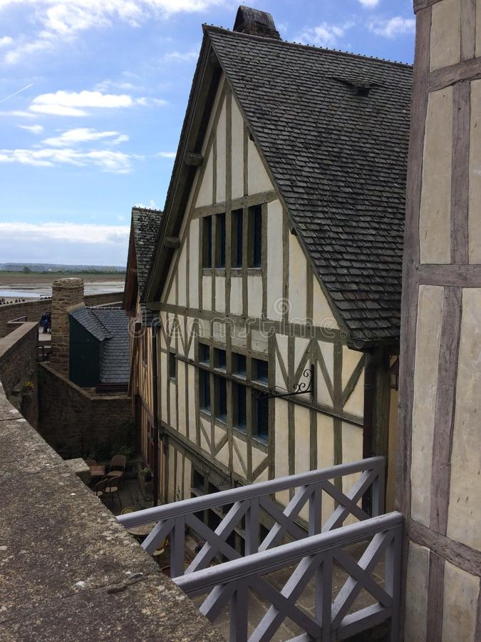 Mont-Άγιος-Michel στοκ φωτογραφία με δικαίωμα ελεύθερης χρήσης