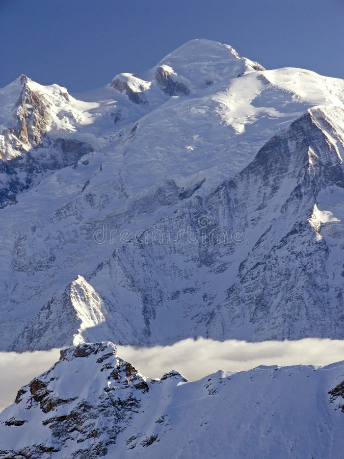 Download Mont Blanc stock photo. Image of cliff, france, highest - 109172