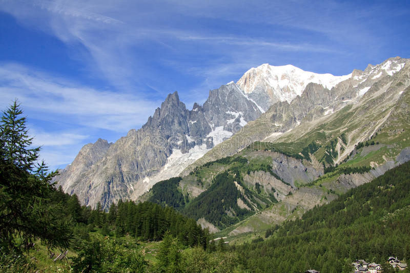 Download Mont Blanc stock photo. Image of mont, peak, italy, blanc - 16689826