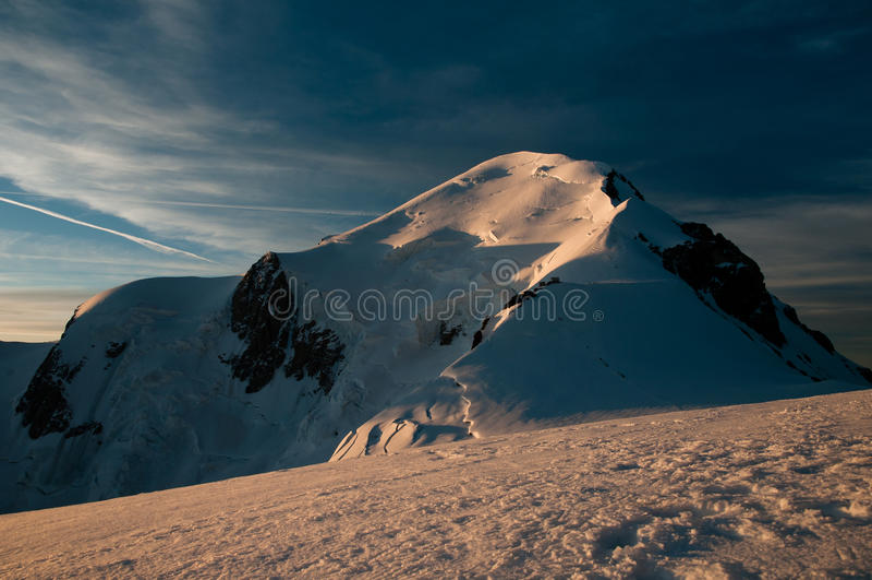 Mont Blanc fotografía de archivo libre de regalías