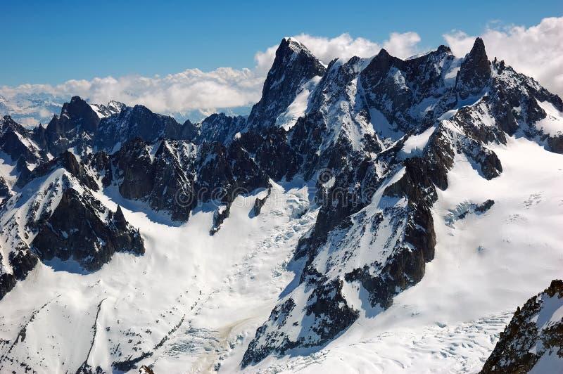 Mont Blanc lizenzfreie stockfotos