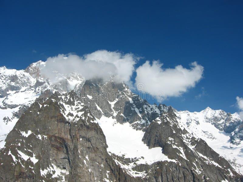 Mont Blanc immagini stock