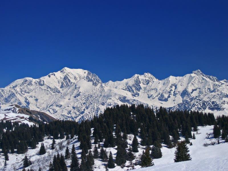Mont Blanc photographie stock libre de droits