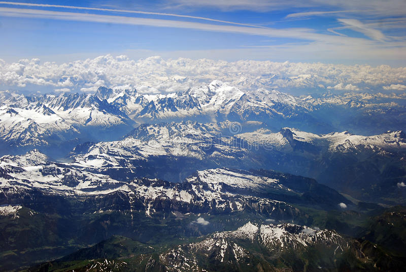MONT BLANC imagens de stock royalty free