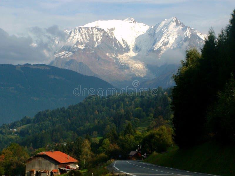 Mont Blanc imagem de stock