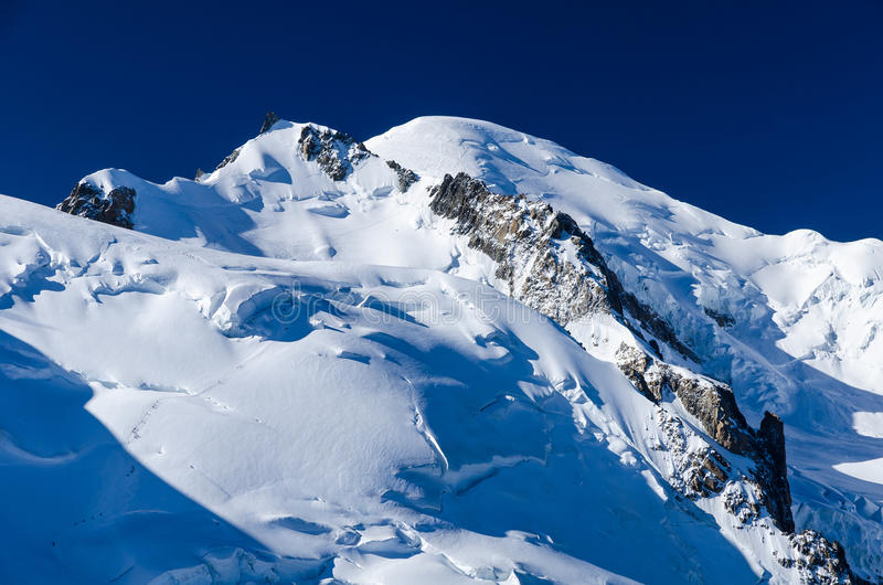 Mont Blanc, Alps stock photography