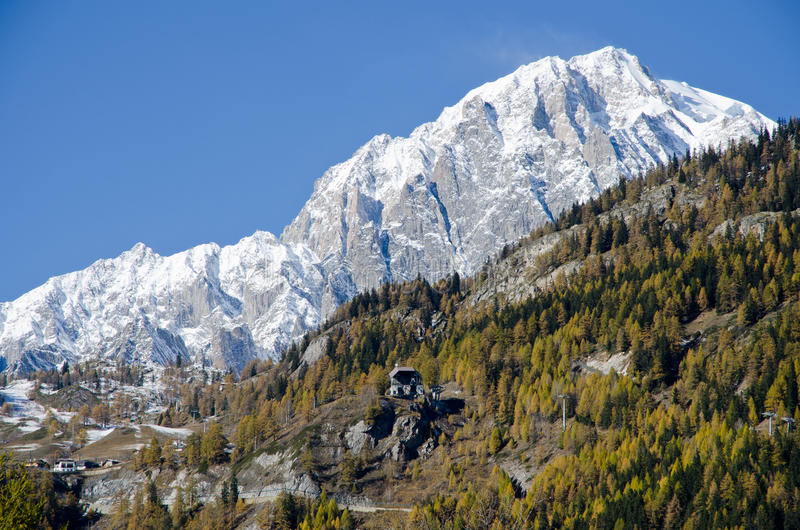 Download Mont Blanc stock image. Image of courmayeur, tunnel, france - 31765267