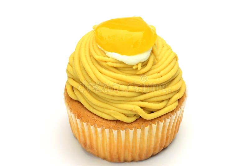 Mont blanc cake royalty free stock images