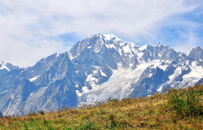 Mont Blanc. Italian Alps photo stock images