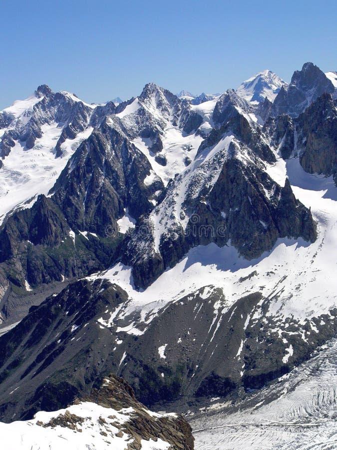 Mont blanc region 3 royalty free stock photography