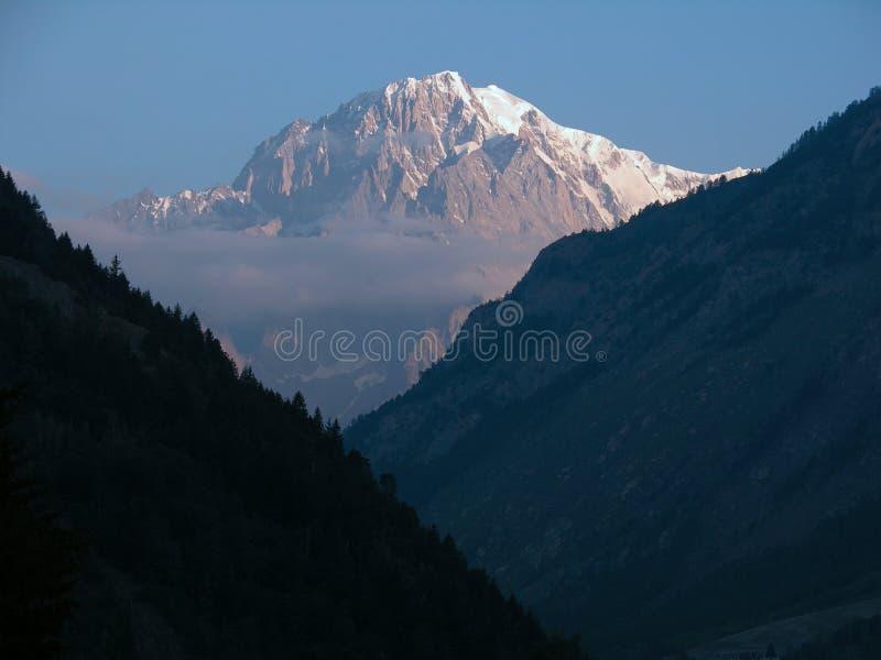Download Mont de blanc photo stock. Image du italie, monte, mont - 86980