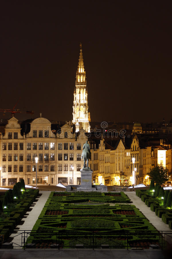 Mont des arts royalty free stock photo