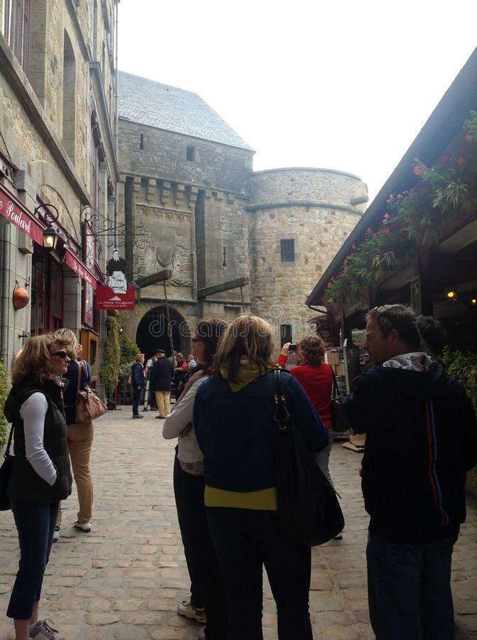 Mont-heilige-Michel royalty-vrije stock fotografie