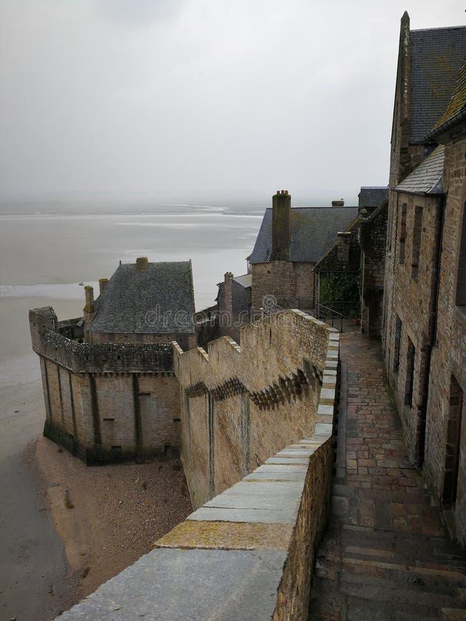 Mont-Helgon-Michel royaltyfri foto