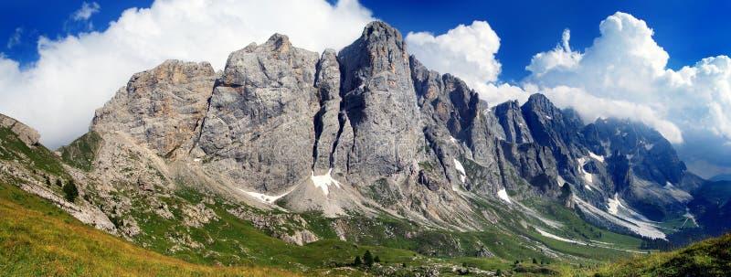 Mont mulaz - dolomiti stock foto