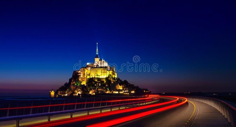 Mont saint michel obrazy royalty free