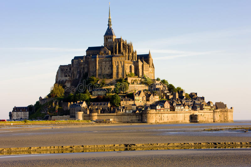 Download Mont-Saint-Michel stock image. Image of churches, church - 11234915