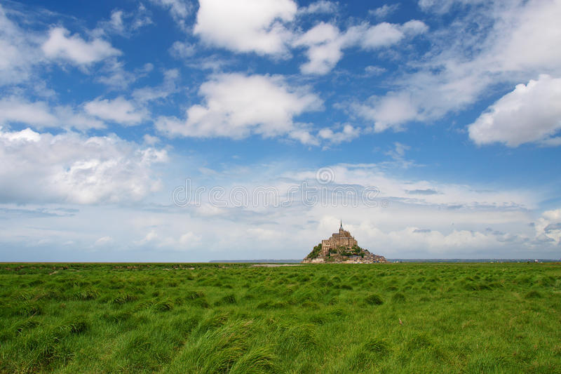 Download Mont Saint-Michel stock photo. Image of famous, green - 11627424