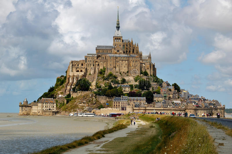 Download Mont Saint Michel stock image. Image of island, place - 13450729