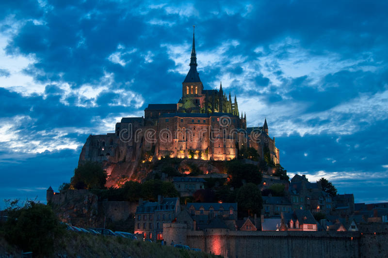 The Mont Saint Michel royalty free stock image