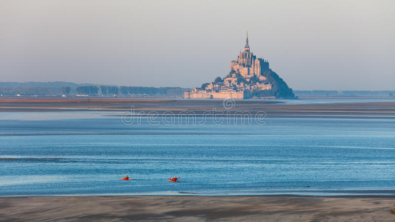 Mont Saint-Michel stockfotografie