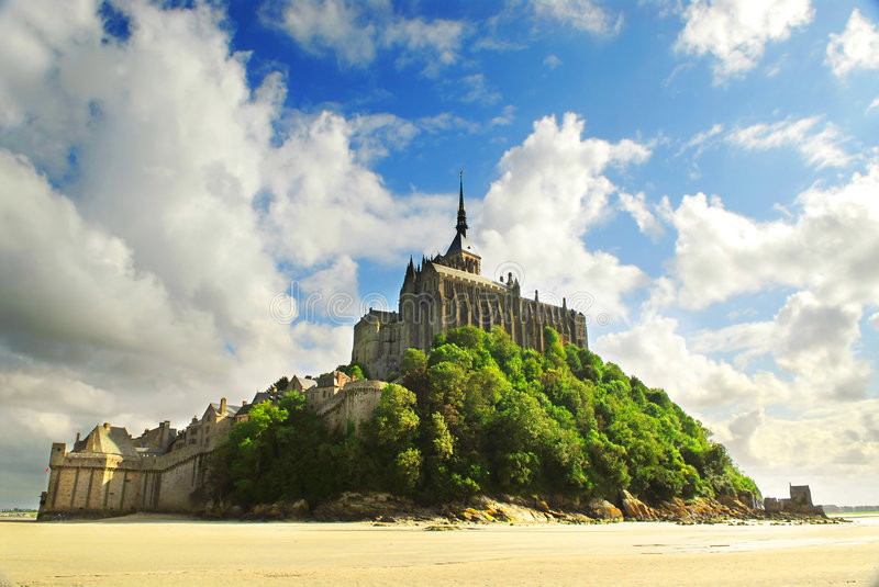 Download Mont Saint Michel stock image. Image of french, medieval - 3107557