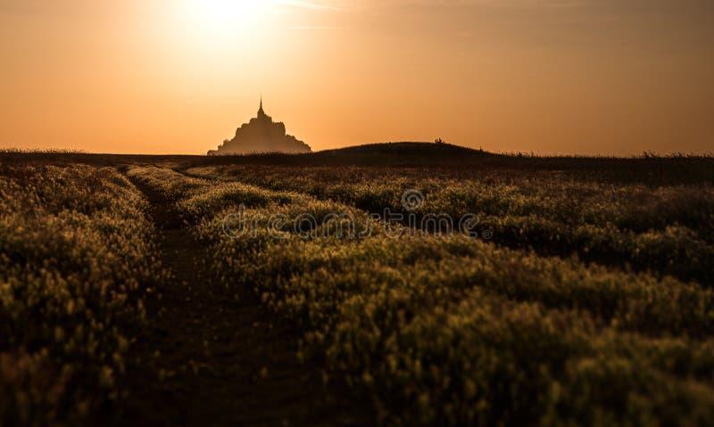 Mont Saint Michel image libre de droits