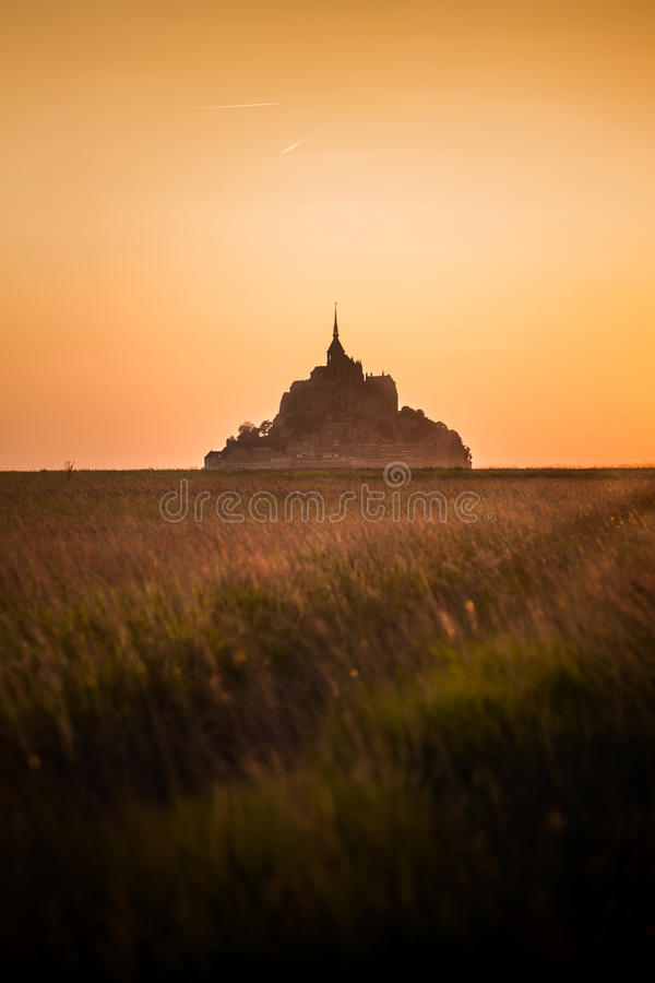 Free Mont Saint Michel Stock Photos - 61457453