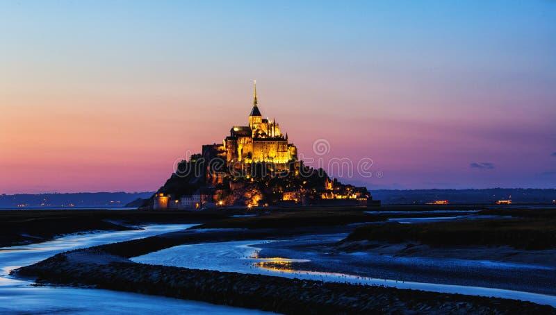 Mont saint michel zdjęcie royalty free