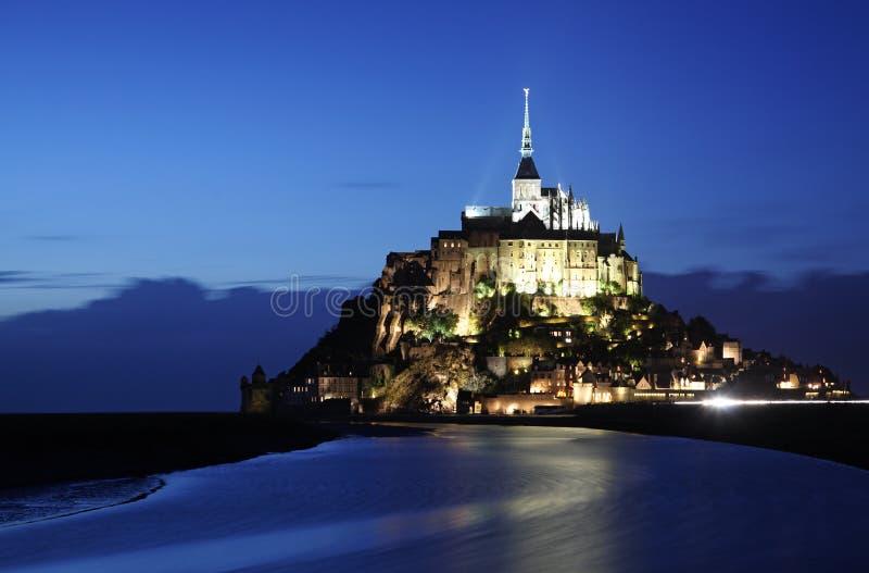 Mont-Saint-Michel stock photography