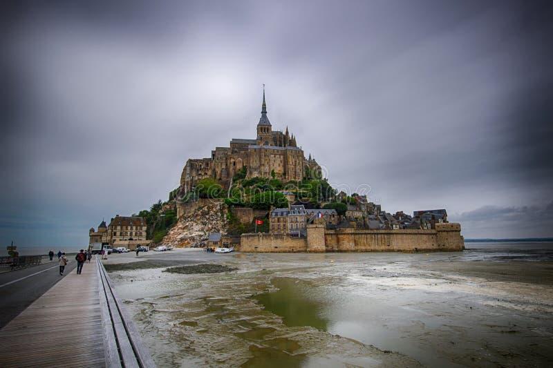 Mont Saint-Michel image libre de droits