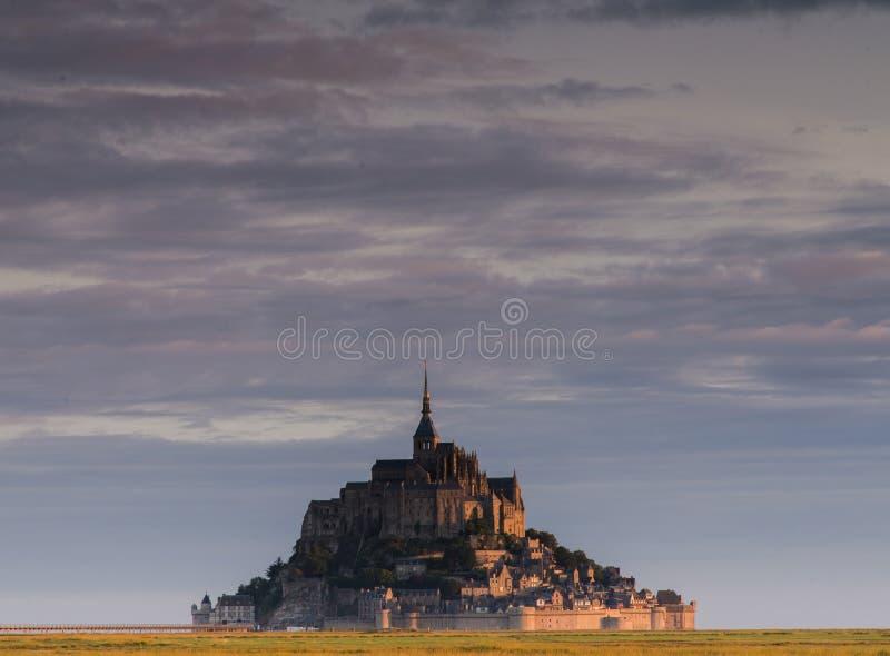 Mont Saint Michel stockbilder
